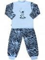 Dětské bavlněné pyžamo New Baby Zebra s balónkem modré 80 (9-12m)