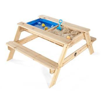 Stůl dřevěný piknikový 3v1
