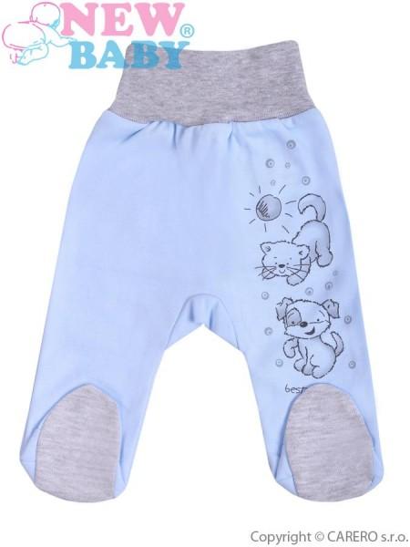 Kojenecké polodupačky New Baby Kamarádi modré 62 (3-6m)