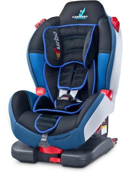 Autosedačka CARETERO Sport TurboFix navy 2016 + dárek