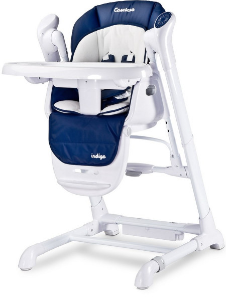 Dětská jídelní židlička 2v1 Caretero Indigo navy
