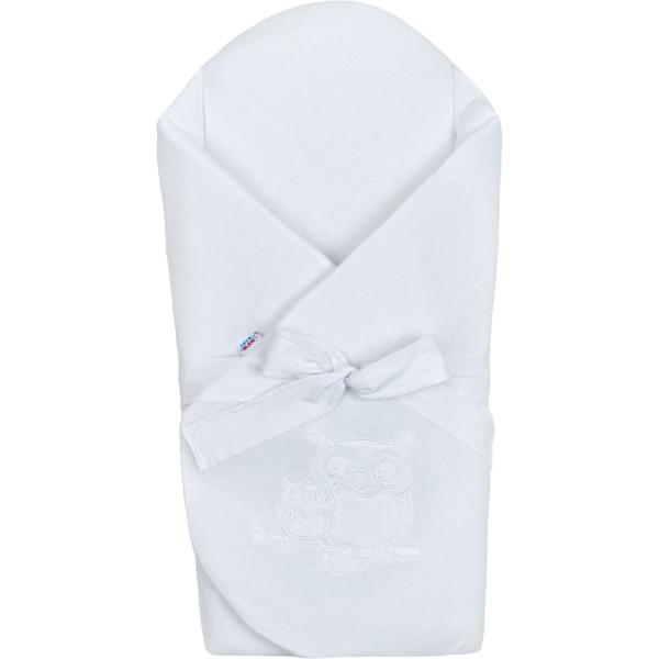 Zavinovačka s výztuží New Baby Sovičky bílá