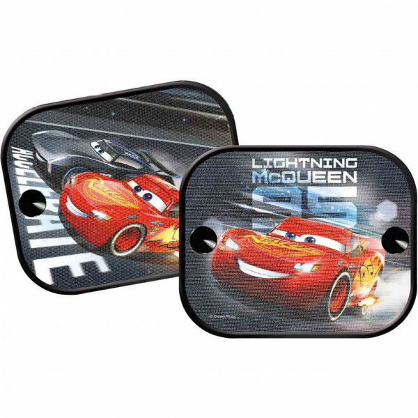 Stínítka do auta 2 ks v balení Cars 3