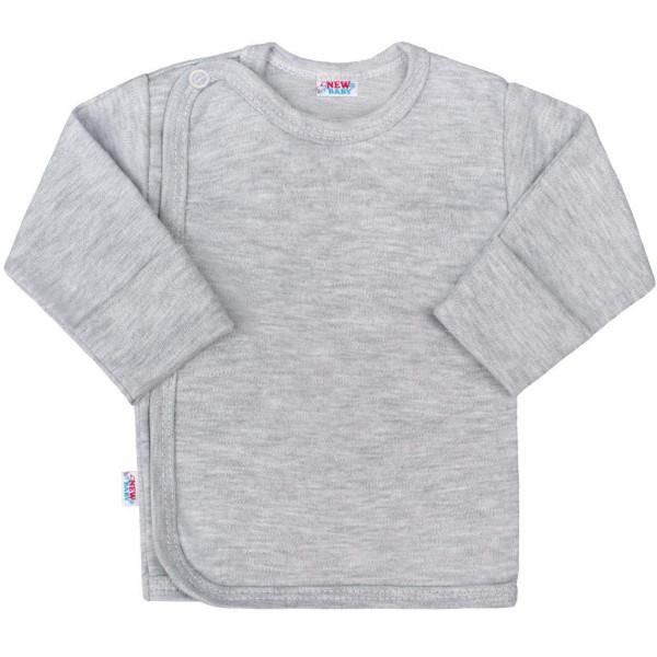 Kojenecká košilka New Baby Classic II šedá 56 (0-3m)