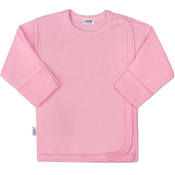 Kojenecká košilka New Baby Classic II růžová 56 (0-3m)