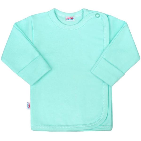 Kojenecká košilka New Baby Classic II mátová 56 (0-3m)