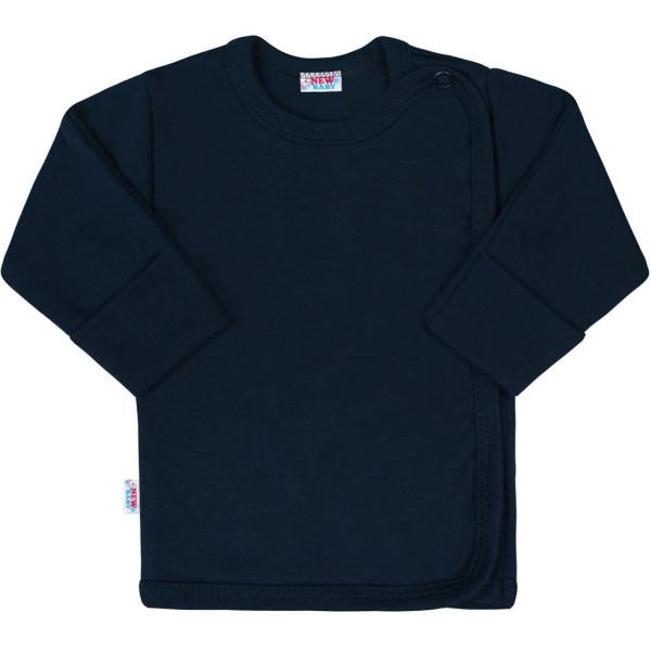 Kojenecká košilka New Baby Classic II tmavě modrá 56 (0-3m)