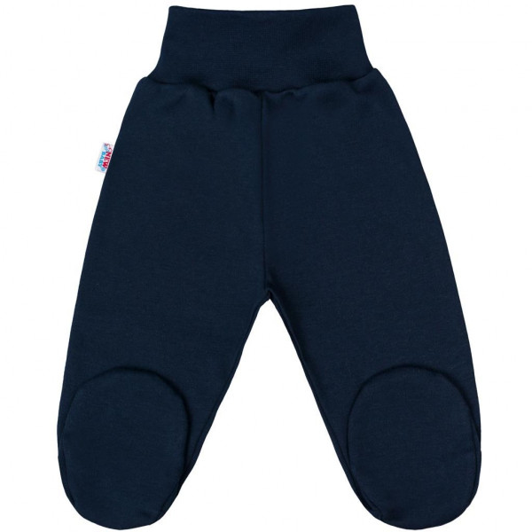 Kojenecké polodupačky New Baby Classic II tmavě modré 68 (4-6m)