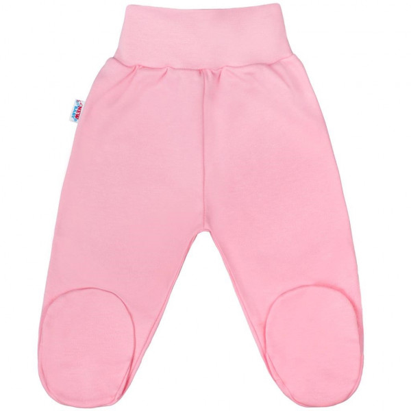 Kojenecké polodupačky New Baby Classic II růžové 80 (9-12m)