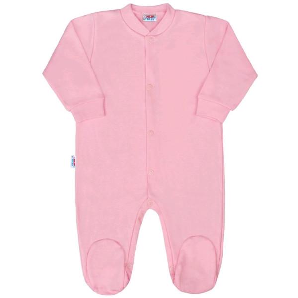 Kojenecký overal New Baby Classic II růžový 56 (0-3m)
