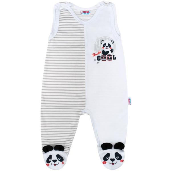 Kojenecké dupačky New Baby Panda 62 (3-6m)