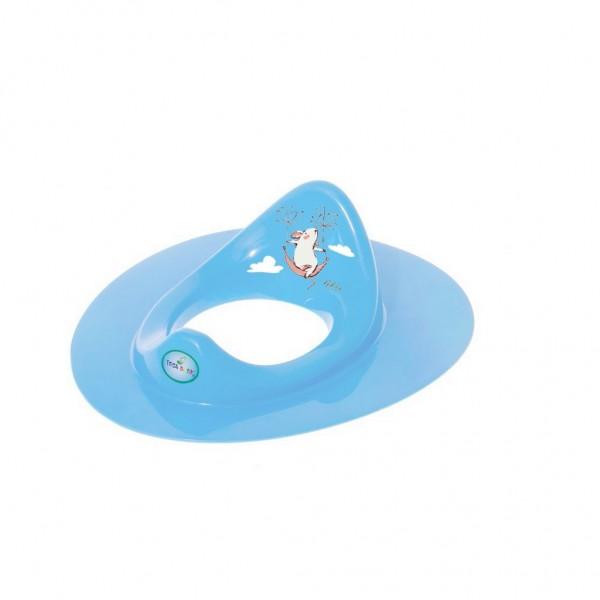 Dětské sedátko na WC myška modré