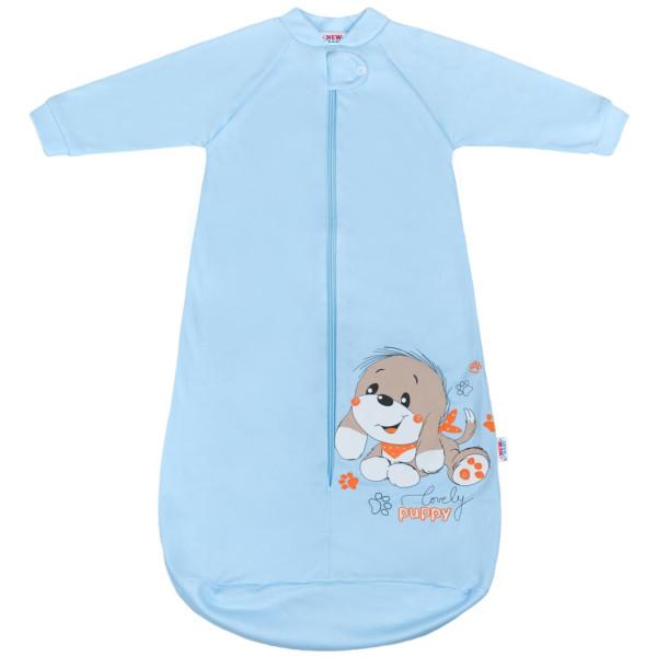 Kojenecký spací pytel New Baby pejsek modrý 68 (4-6m)
