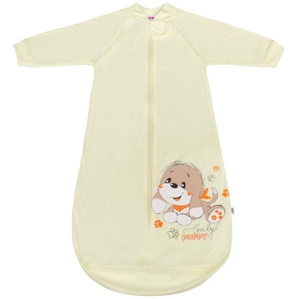 Kojenecký spací pytel New Baby pejsek béžový 80 (9-12m)
