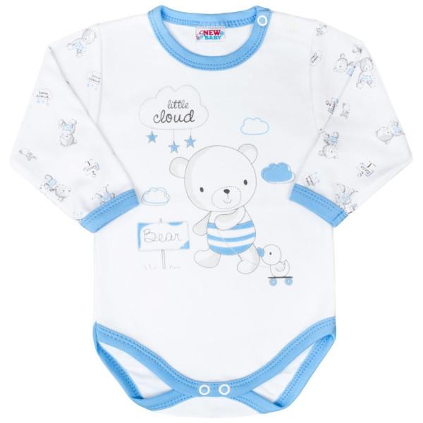 Kojenecké body New Baby Bears modré 50