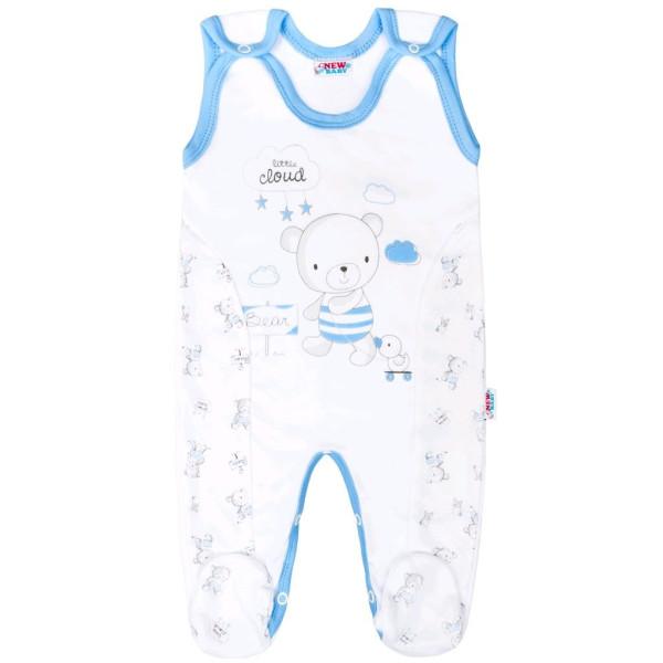Kojenecké dupačky New Baby Bears modré 56 (0-3m)