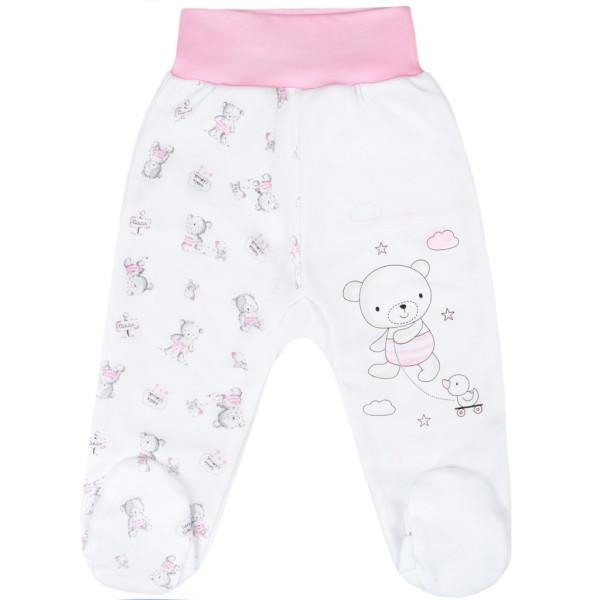 Kojenecké polodupačky New Baby Bears růžové 50