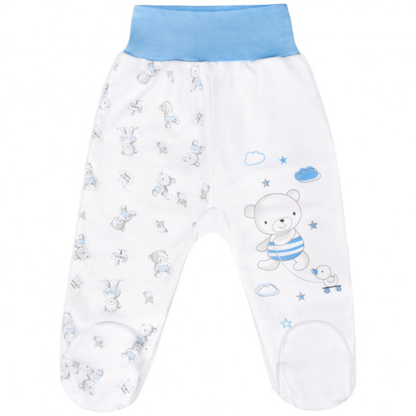 Kojenecké polodupačky New Baby Bears modré 62 (3-6m)