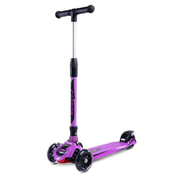 Dětská koloběžka Toyz Carbon purple