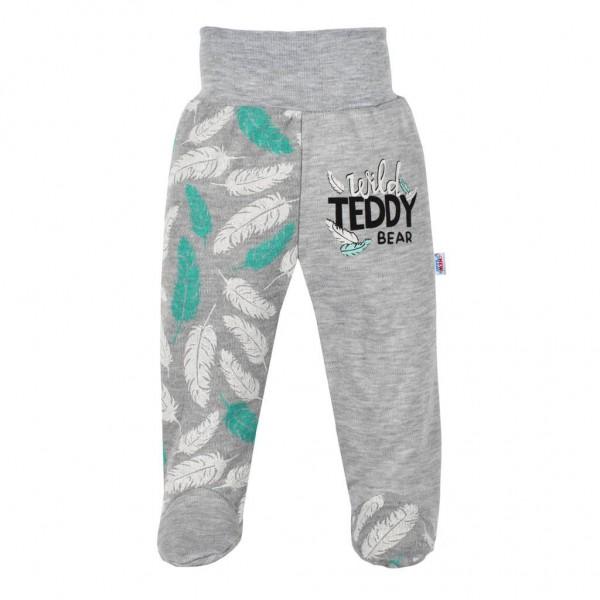 Kojenecké bavlněné polodupačky New Baby Wild Teddy 56 (0-3m)