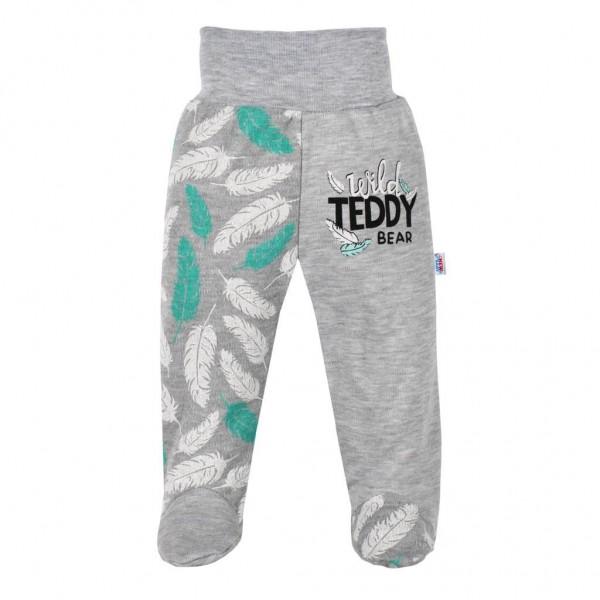 Kojenecké bavlněné polodupačky New Baby Wild Teddy 62 (3-6m)