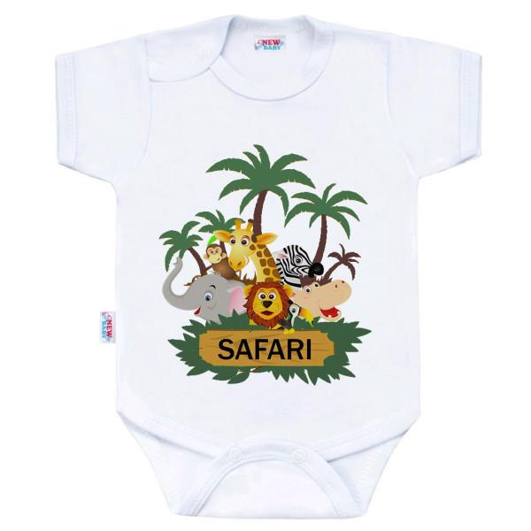 Body s potiskem New Baby SAFARI 50