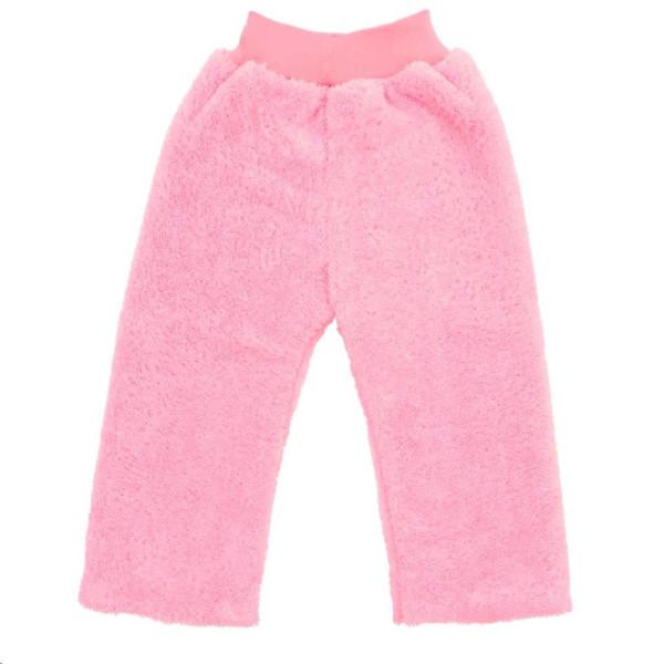 Zimní dětské tepláčky New Baby Penguin růžové 98 (2-3r)