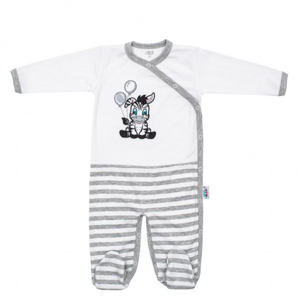 Kojenecký bavlněný overal New Baby Zebra exclusive 62 (3-6m)