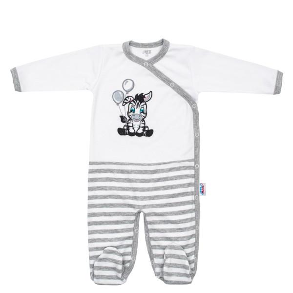 Kojenecký bavlněný overal New Baby Zebra exclusive 80 (9-12m)