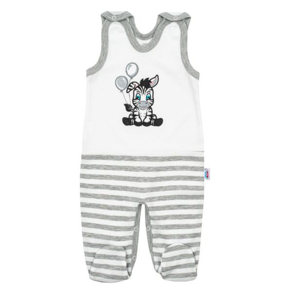 Kojenecké bavlněné dupačky New Baby Zebra exclusive 80 (9-12m)