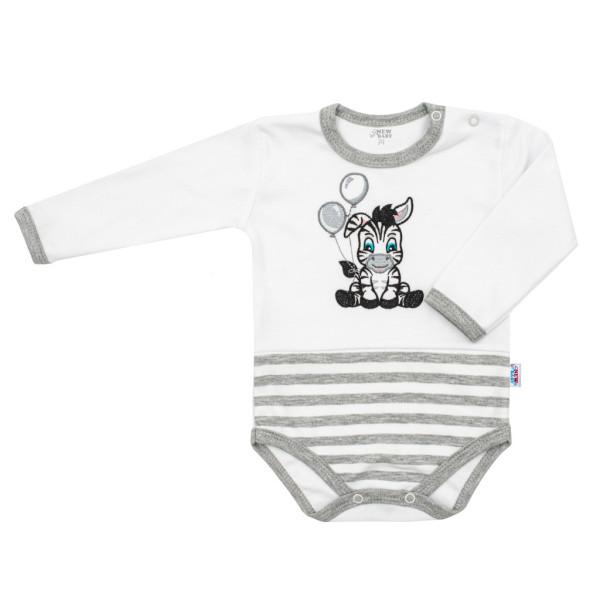 Kojenecké bavlněné body New Baby Zebra exclusive 80 (9-12m)