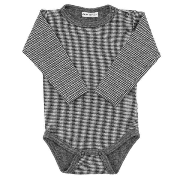 Zimní kojenecké body Baby Service Retro 56 (0-3m)