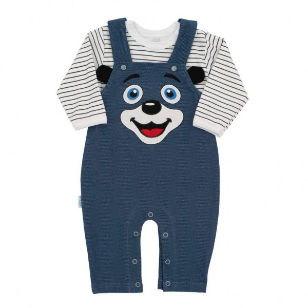 2-dílná kojenecká souprava New Baby For Babies modrá 68 (4-6m)