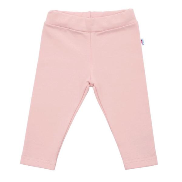 Kojenecké bavlněné legíny New Baby Leggings světle růžové 86 (12-18m)