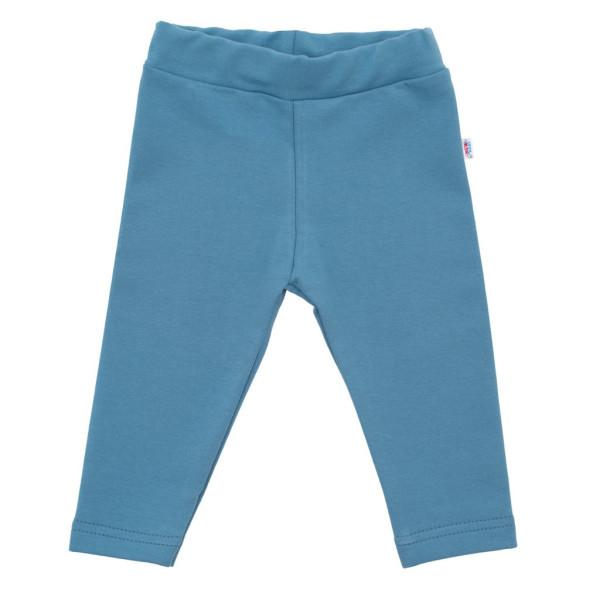 Kojenecké bavlněné legíny New Baby modré 62 (3-6m)