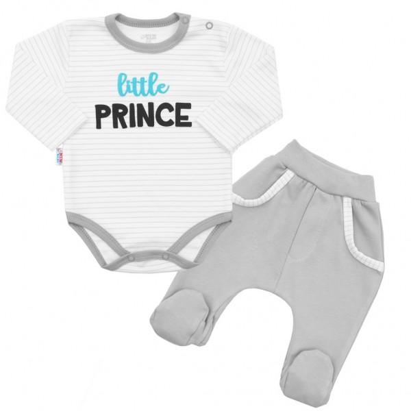 2-dílná bavlněná souprava New Baby Little Prince 80 (9-12m)