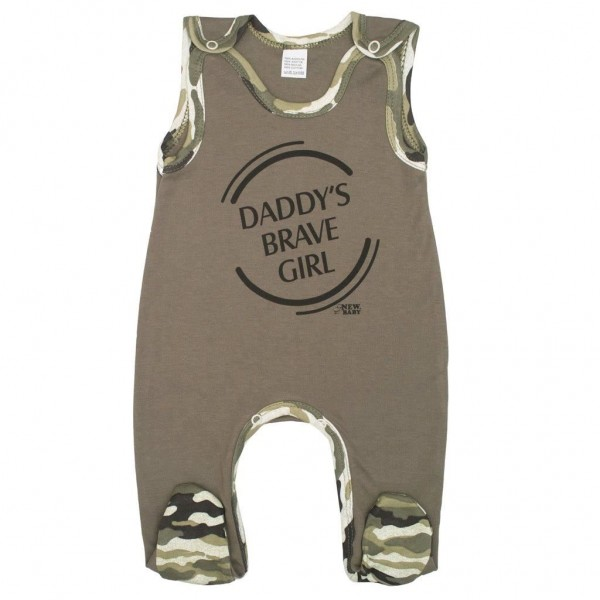 Kojenecké dupačky New Baby Army girl 62 (3-6m)