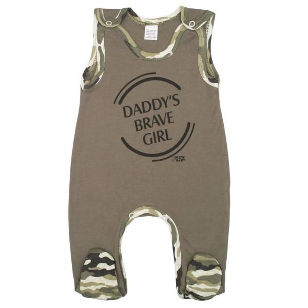 Kojenecké dupačky New Baby Army girl 80 (9-12m)