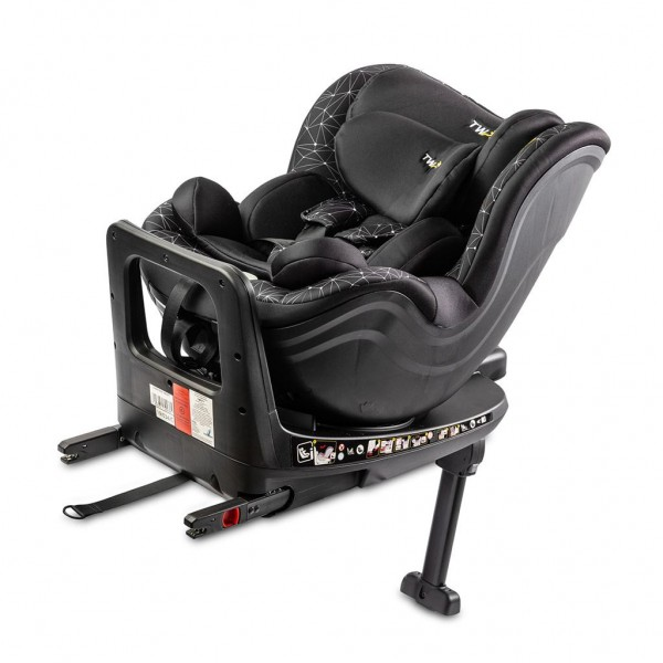 Autosedačka CARETERO Twisty Isofix i-Size black 2020