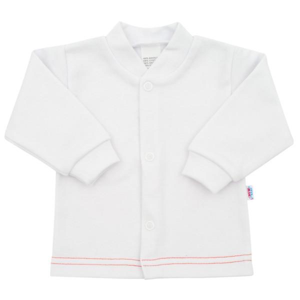 Kojenecký kabátek New Baby Mouse bílý 62 (3-6m)