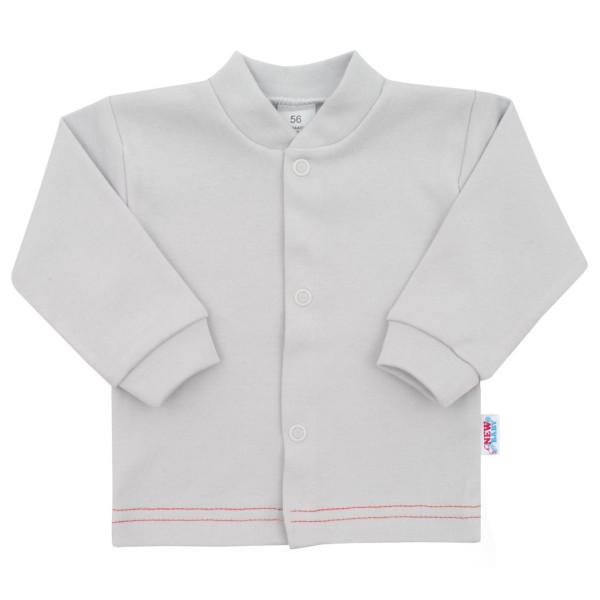 Kojenecký kabátek New Baby Mouse šedý 68 (4-6m)