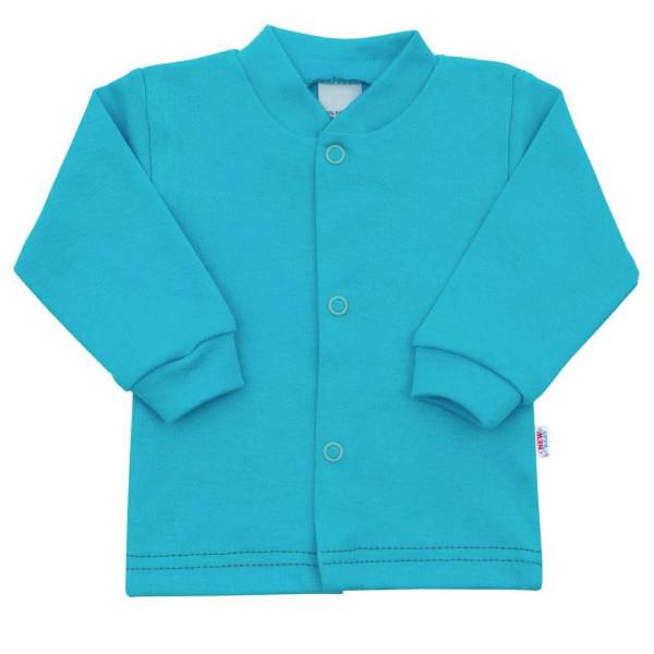 Kojenecký kabátek New Baby Mouse tyrkysový 62 (3-6m)