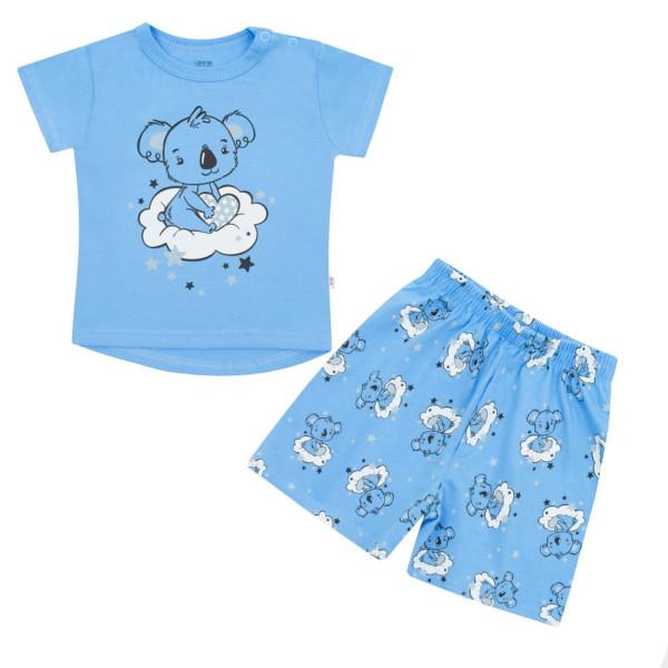 Dětské letní pyžamko New Baby Dream modré 62 (3-6m)