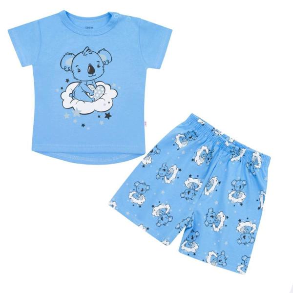 Dětské letní pyžamko New Baby Dream modré 80 (9-12m)
