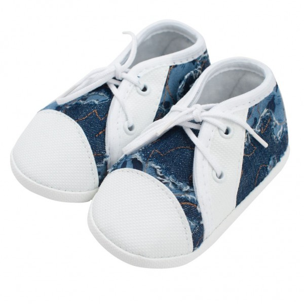 Kojenecké capáčky tenisky New Baby modré 0-3 m 0-3 m