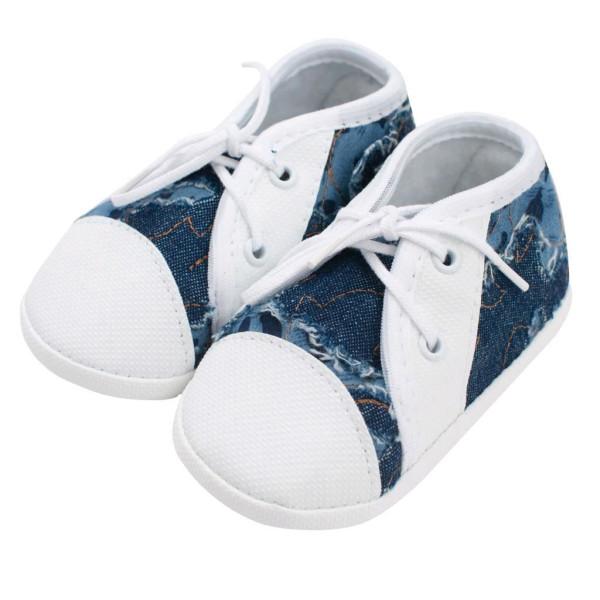 Kojenecké capáčky tenisky New Baby modré 6-12 m 6-12 m