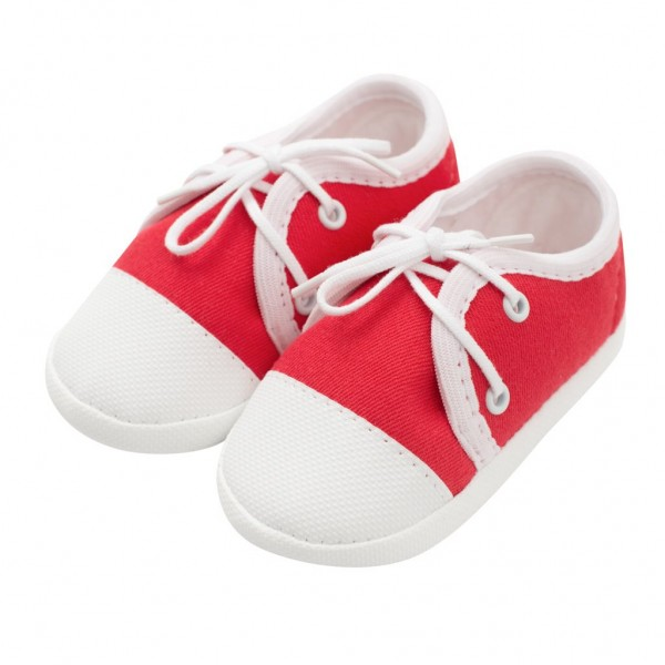 Kojenecké capáčky tenisky New Baby červené 6-12 m 6-12 m