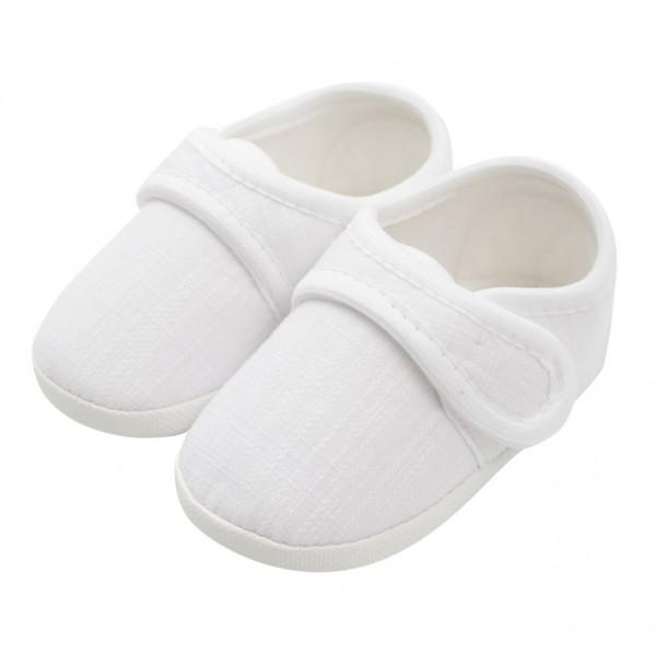 Kojenecké capáčky New Baby Linen bílé 0-3 m 0-3 m