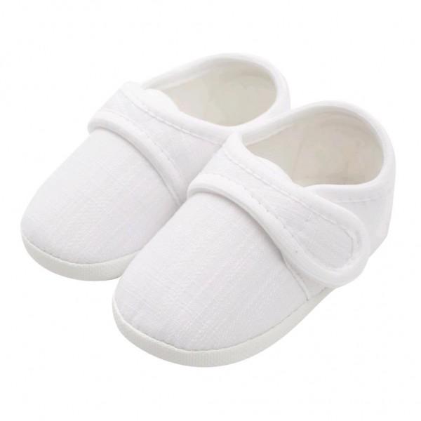 Kojenecké capáčky New Baby Linen bílé 3-6 m 3-6 m