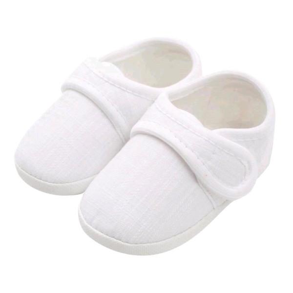 Kojenecké capáčky New Baby Linen bílé 12-18 m 12-18 m